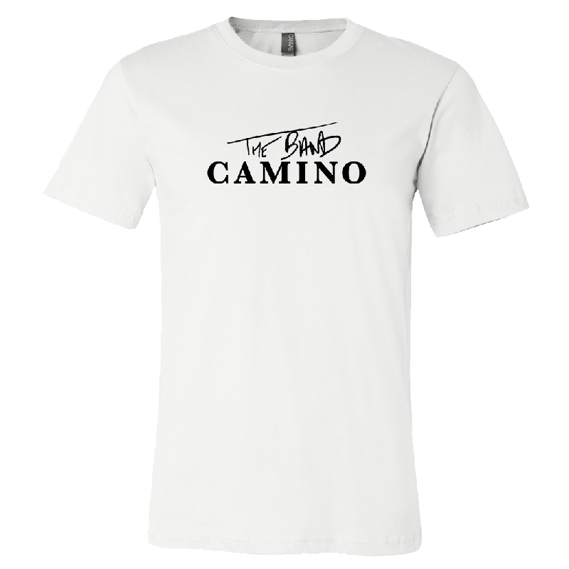 The Band Camino White Logo Tee