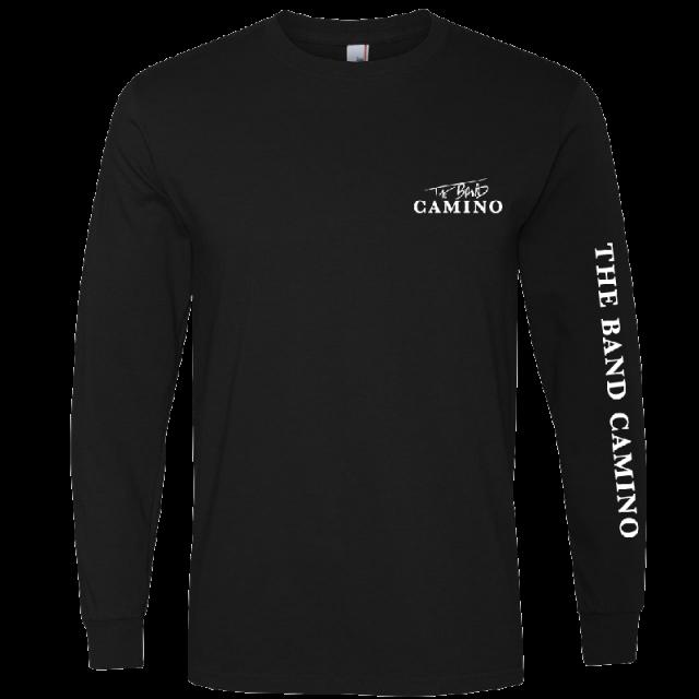 The Band Camino Long Sleeve Black Tee