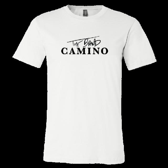 The Band Camino White Logo Tee